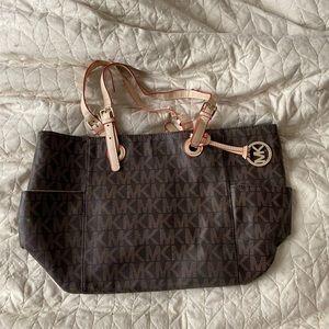 Vintage Michael Kors Brown Leather tote